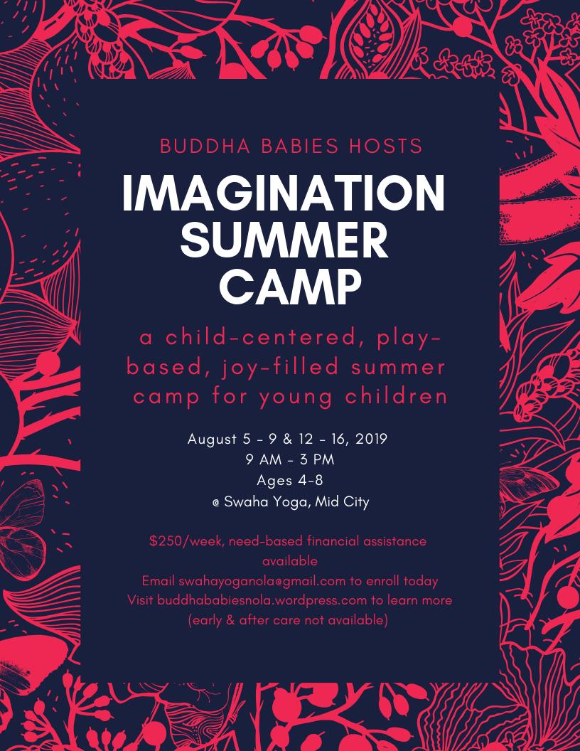 imagination summer camp 2019